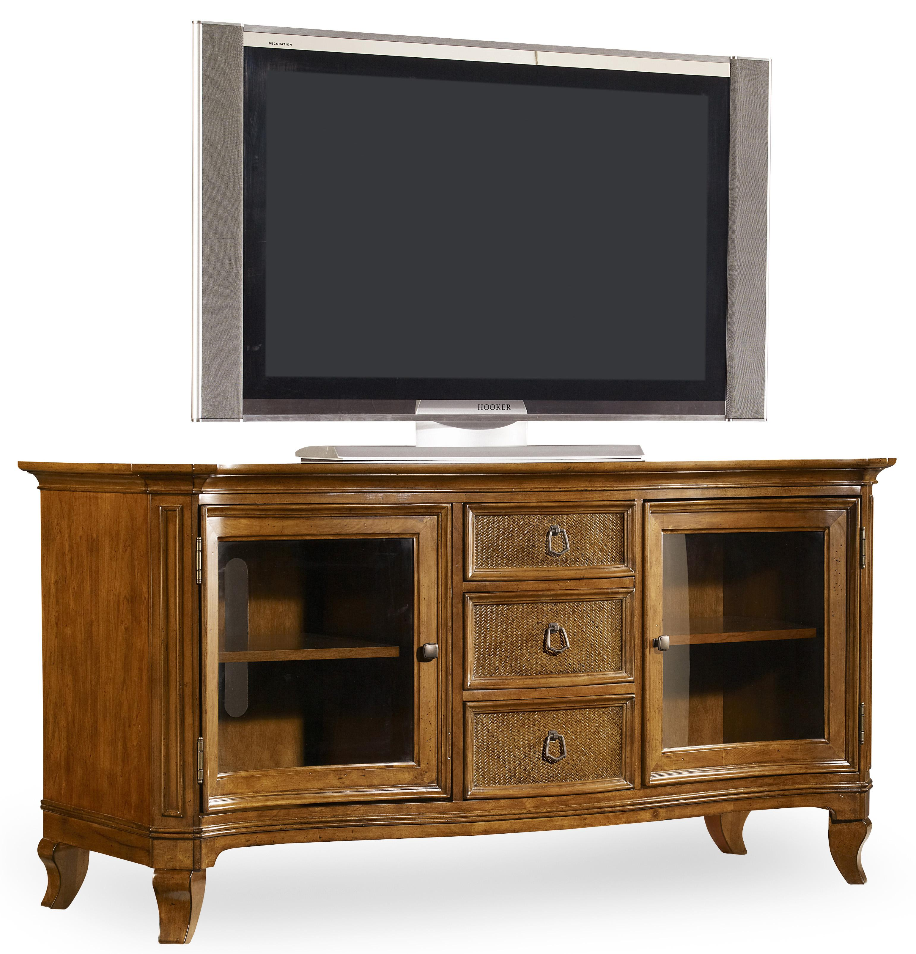 Hooker Furniture Windward Entertainment Console - Item Number: 1125-56480