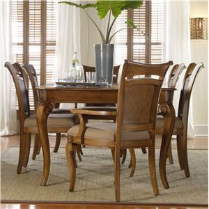 Hooker Furniture Windward Leg Table & Chairs Set