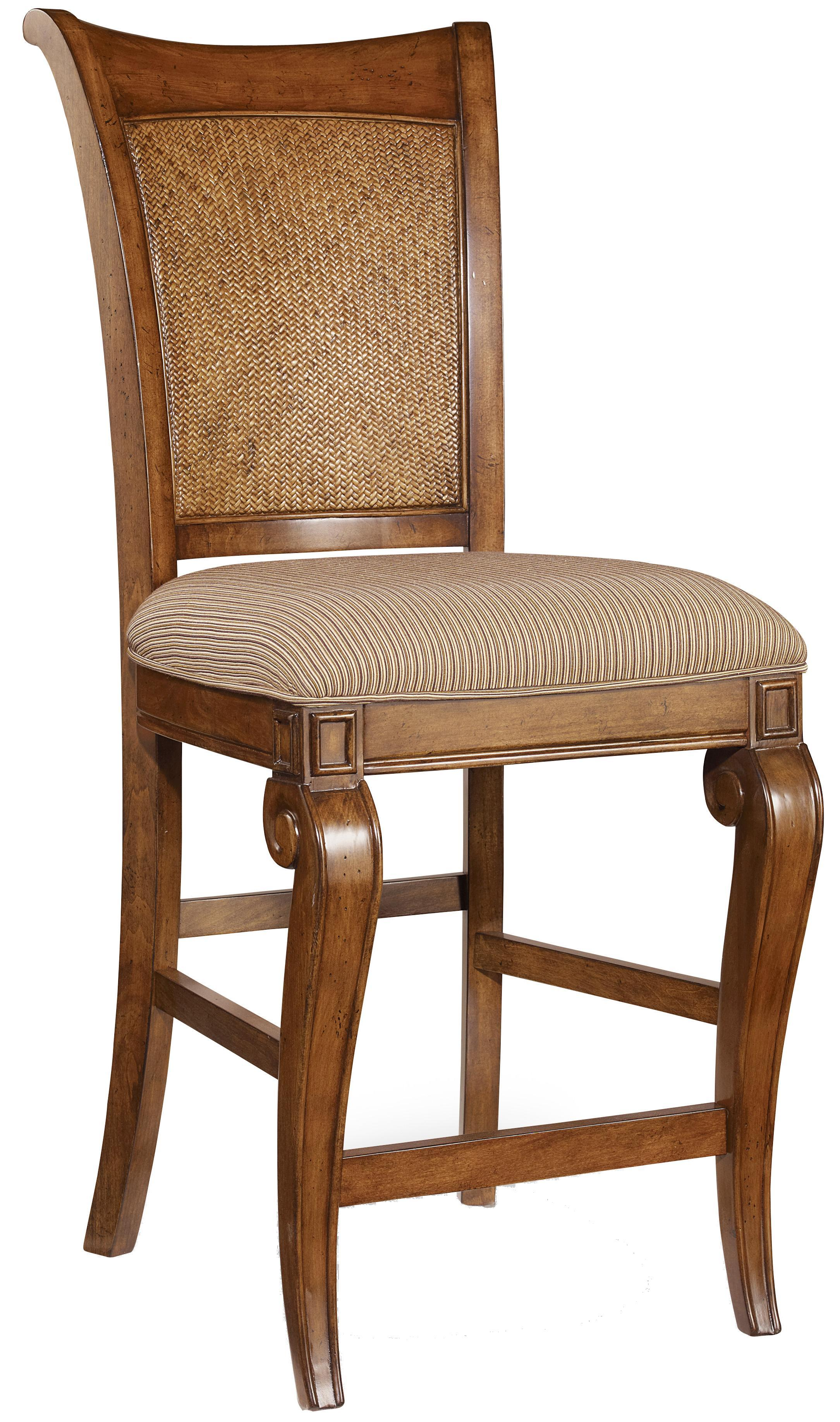 Hooker Furniture Windward Counter Height Stool with Raffia Accents - AHFA - Bar Stool Dealer Locator  sc 1 st  Find Your Furniture & Hooker Furniture Windward Counter Height Stool with Raffia Accents ...