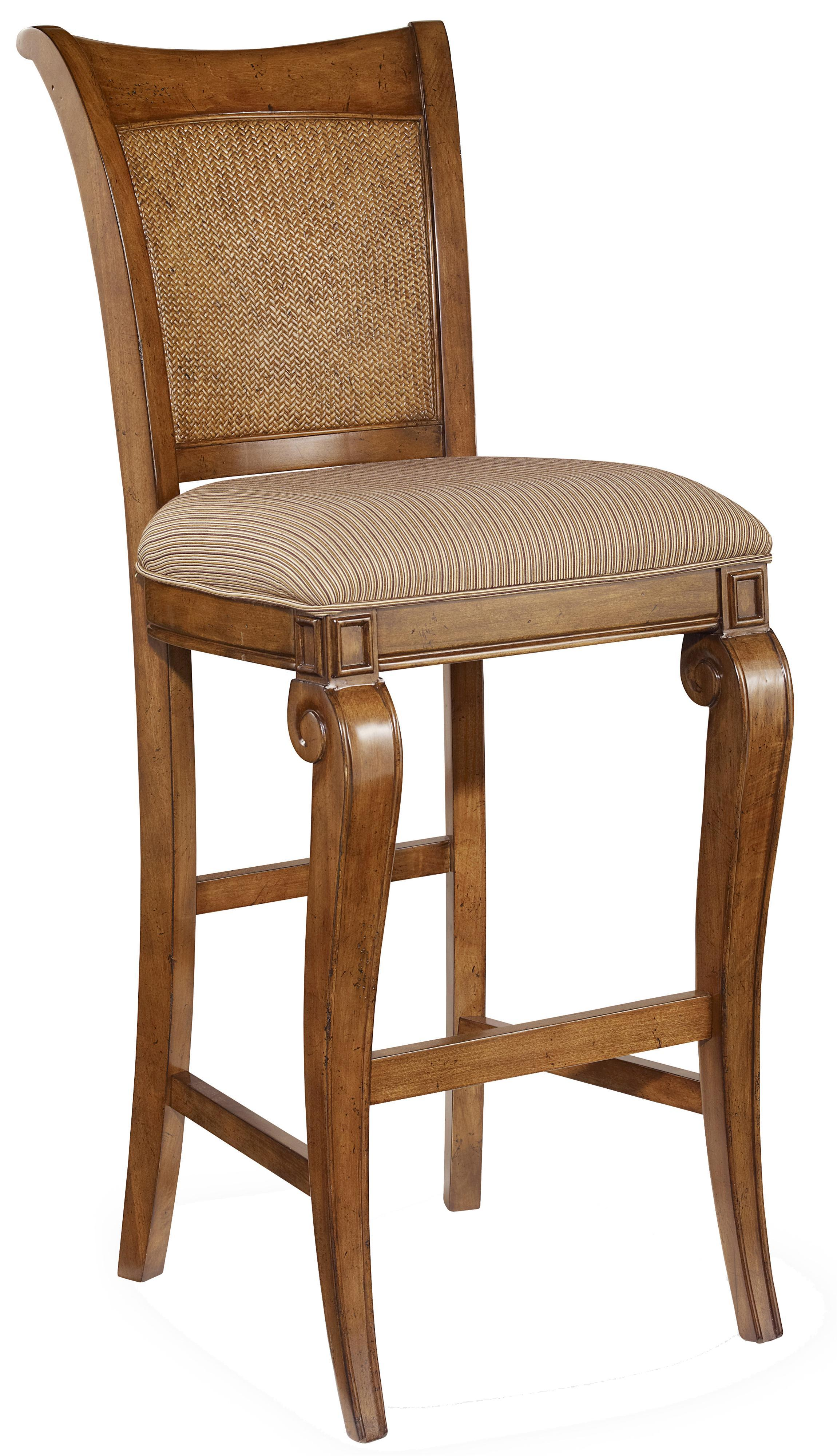 Hooker Furniture Windward Bar Stool - Item Number: 1125-76460