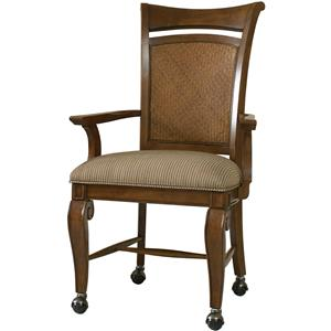 Hooker Furniture Windward Castered Arm Chair
