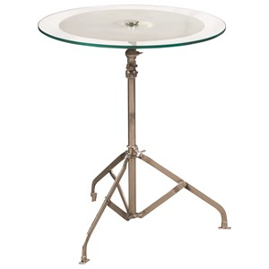 Eric Church's Highway to Home by Pulaski Accents  Cymbal Accent Table