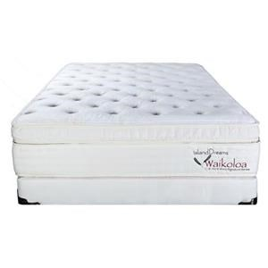 Island Dreams Waikoloa II Cal King Plush Mattress