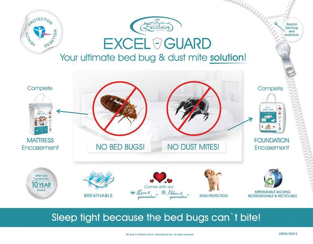 "Excel Guard 9"" Queen Foundation Encasement by Excelsior at SlumberWorld"