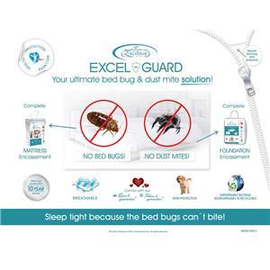 """Excelsior Excel Guard 9"""" Queen Foundation Encasement"""