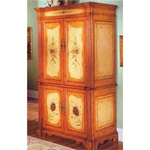 Fairfax Home Furnishings Fairfax Accents Entertainment Armoire