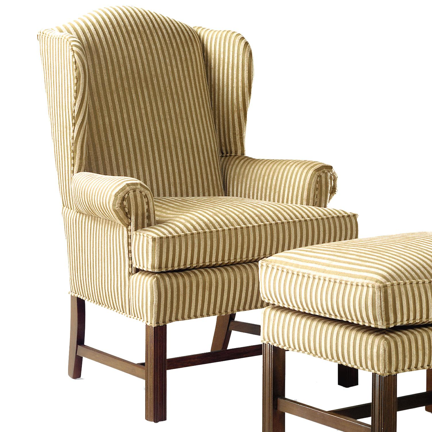 Fairfield 1072 Upholstered Wing Chair - Item Number: 1072-01