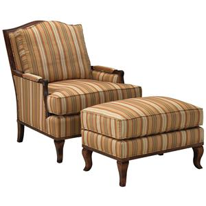 Fairfield 1416 Lounge Chair and Ottoman