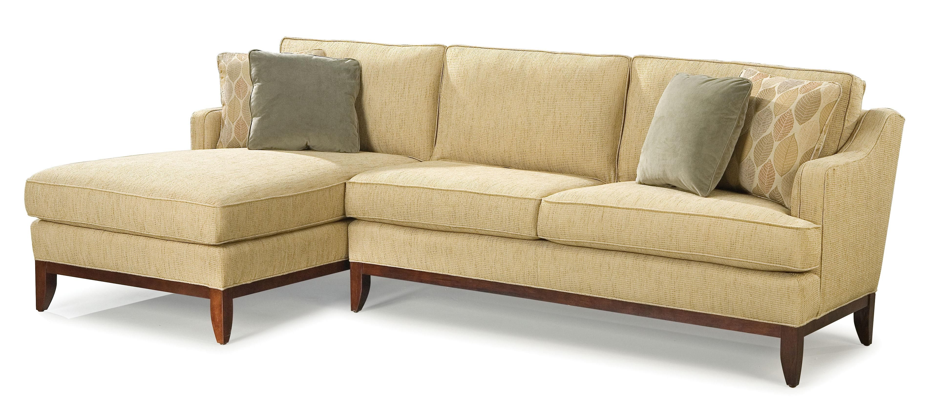Fairfield 2714 Sectional Sofa - Item Number: 2714-27+51