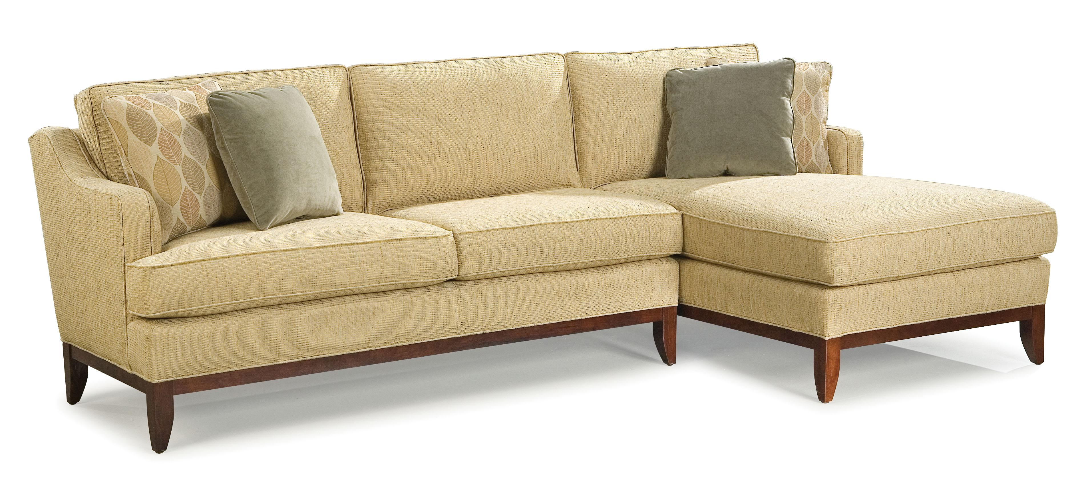 Fairfield 2714 Sectional Sofa - Item Number: 2714-52+26