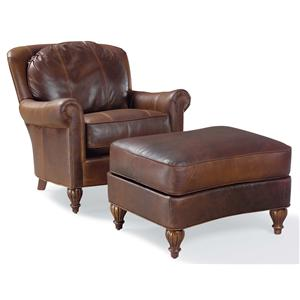 Fairfield 3724 Chair and Ottoman