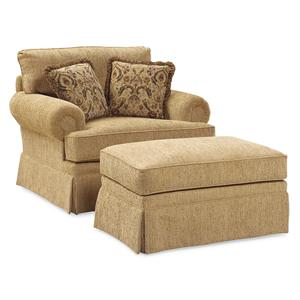 Fairfield 3736 Oversized Chair & Ottoman
