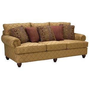 3738 Rolled Arm Comfort Sofa by Fairfield
