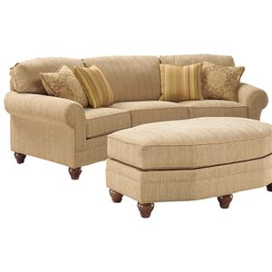 Fairfield 3768 Curved Sofa