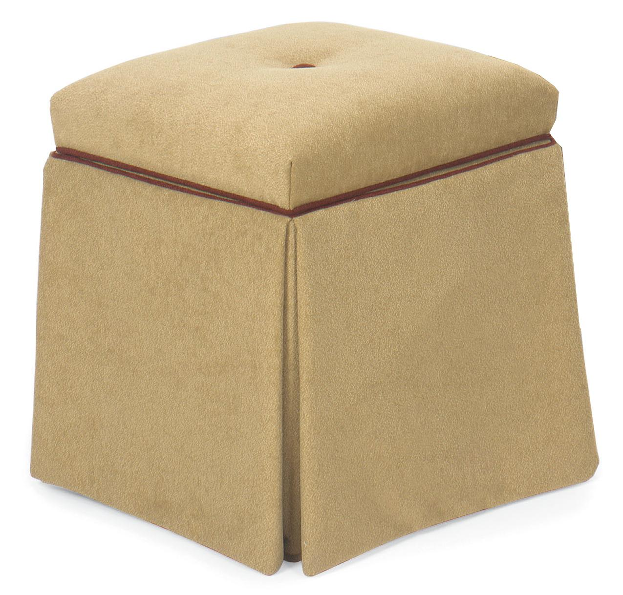 Fairfield Ottomans Storage Ottoman - Item Number: 1673-22