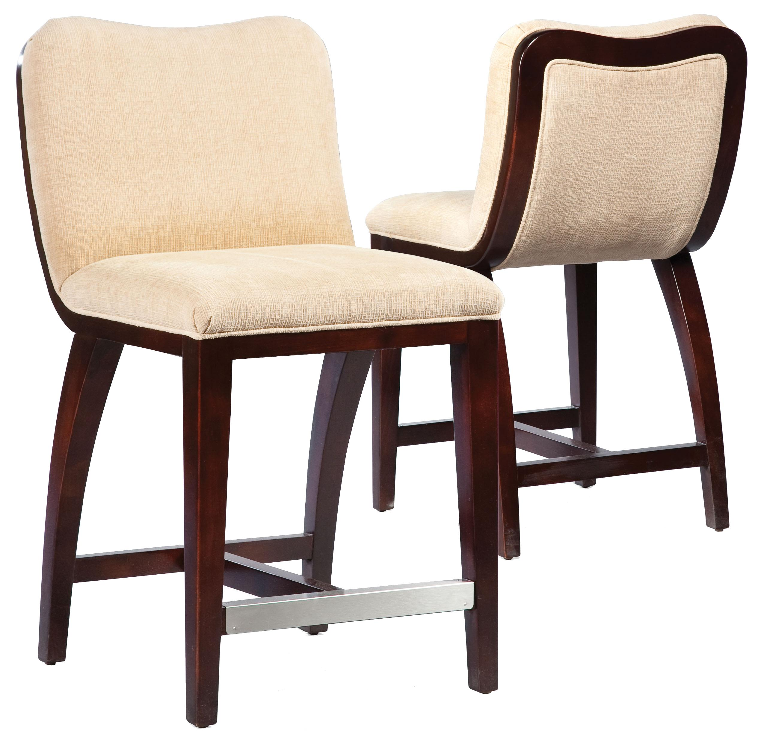 Fairfield Barstools High End Counter Stool With Decorative
