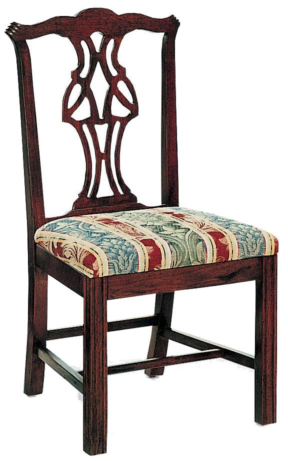 Fairfield Chairs Pierced Splat Back Chair - Item Number: 1067-05