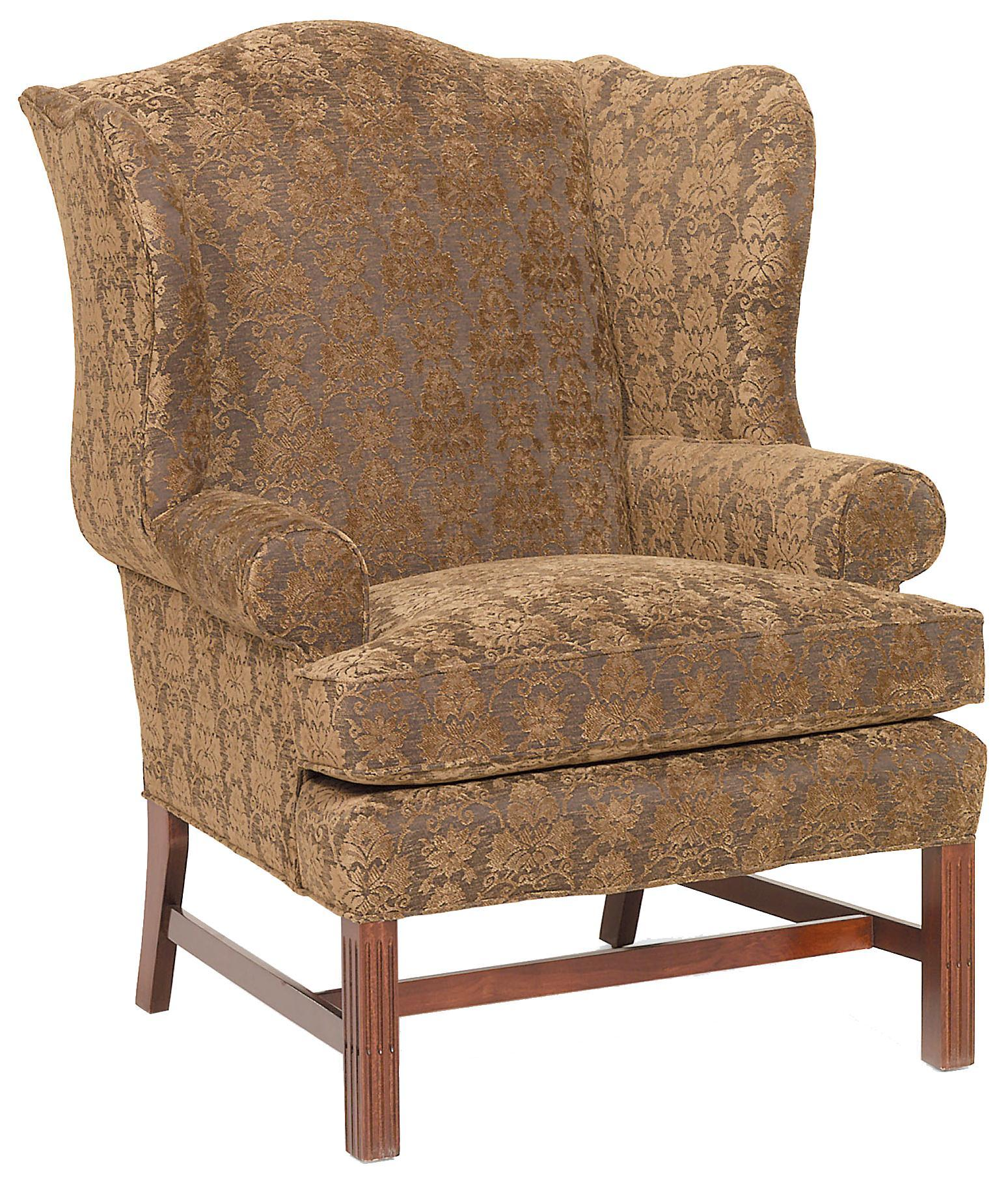 Fairfield Chairs Upholstered Wing Chair - Item Number: 1071-01
