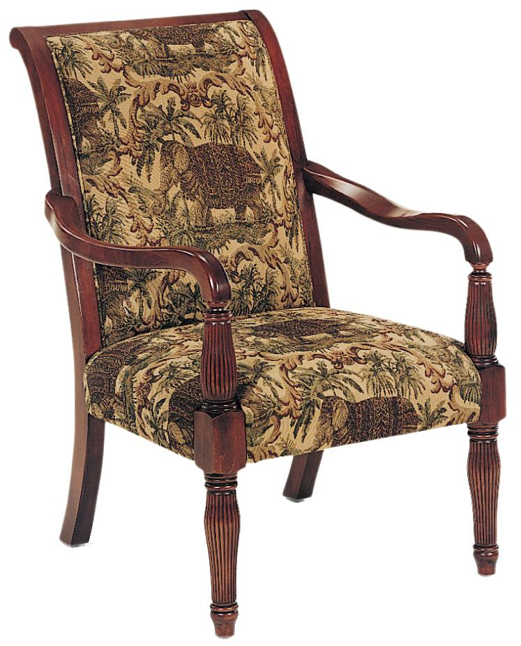 Fairfield Chairs Exposed Wood Chair - Item Number: 1432-01