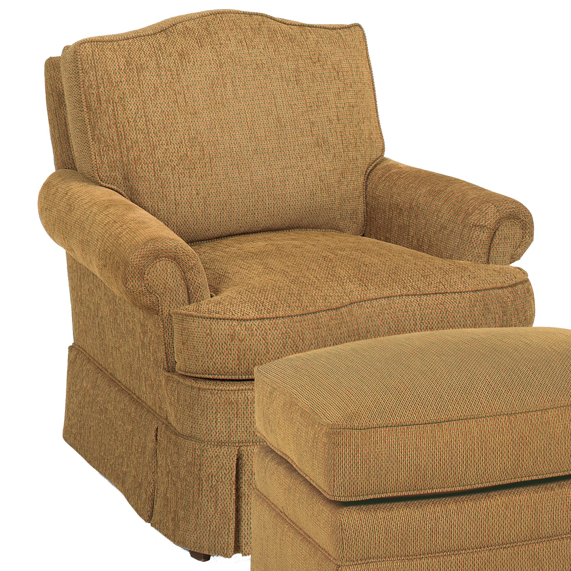 Fairfield Chairs Swivel Chair - Item Number: 1454-31