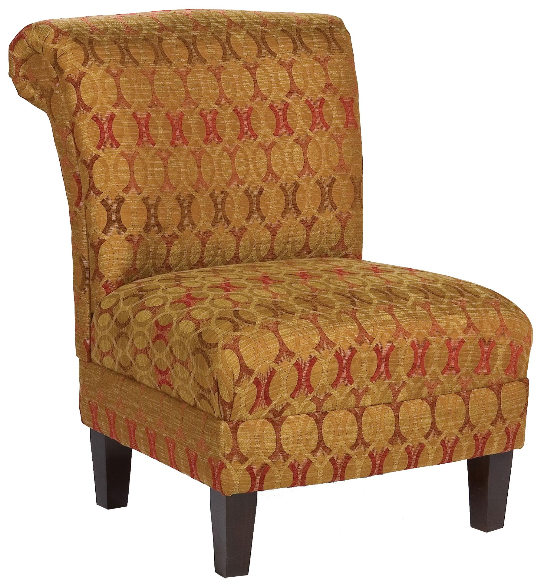 Fairfield Chairs Armless Lounge Chair - Item Number: 1474-01