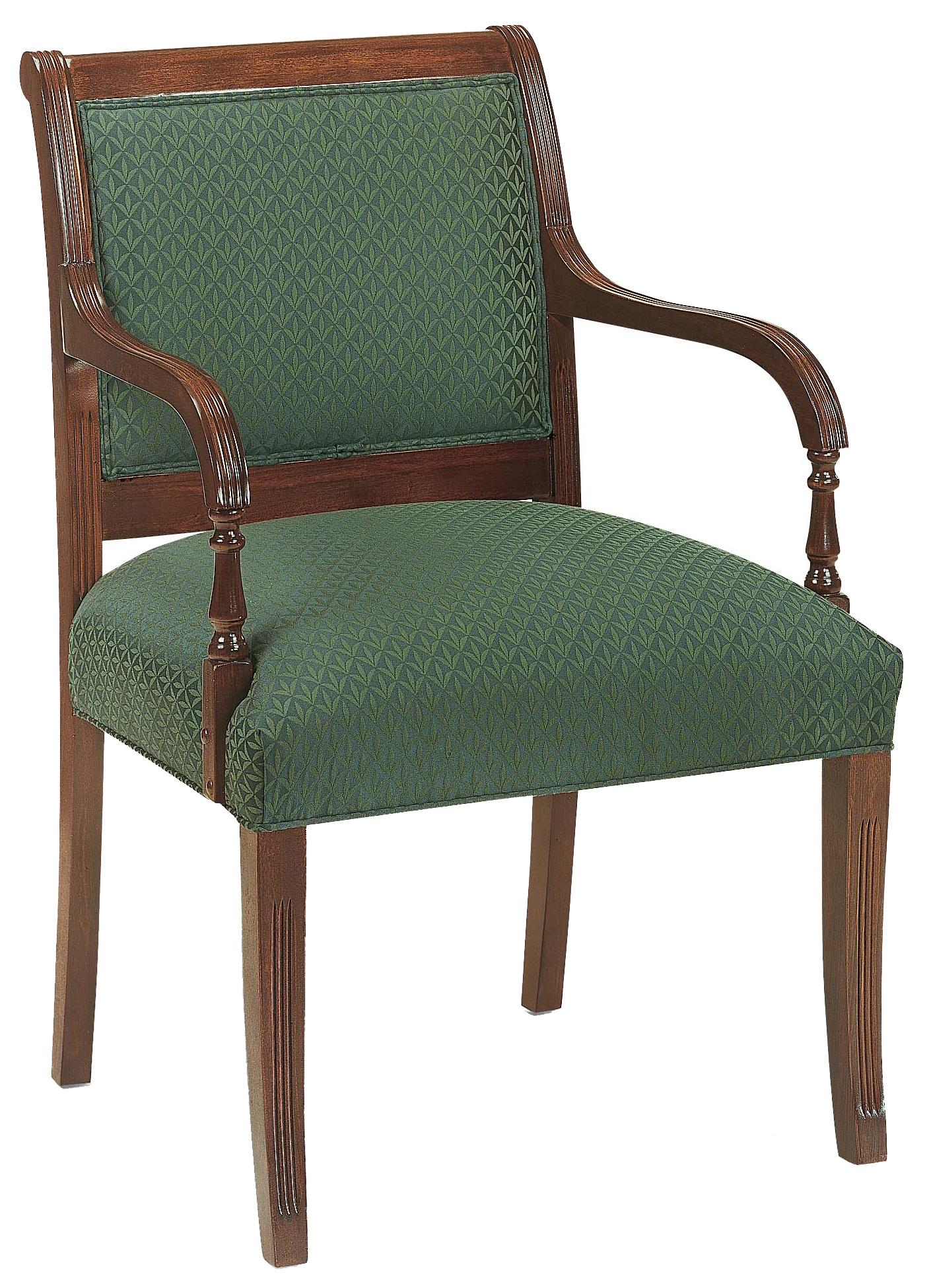 Fairfield Chairs Exposed Wood Chair - Item Number: 3514-01