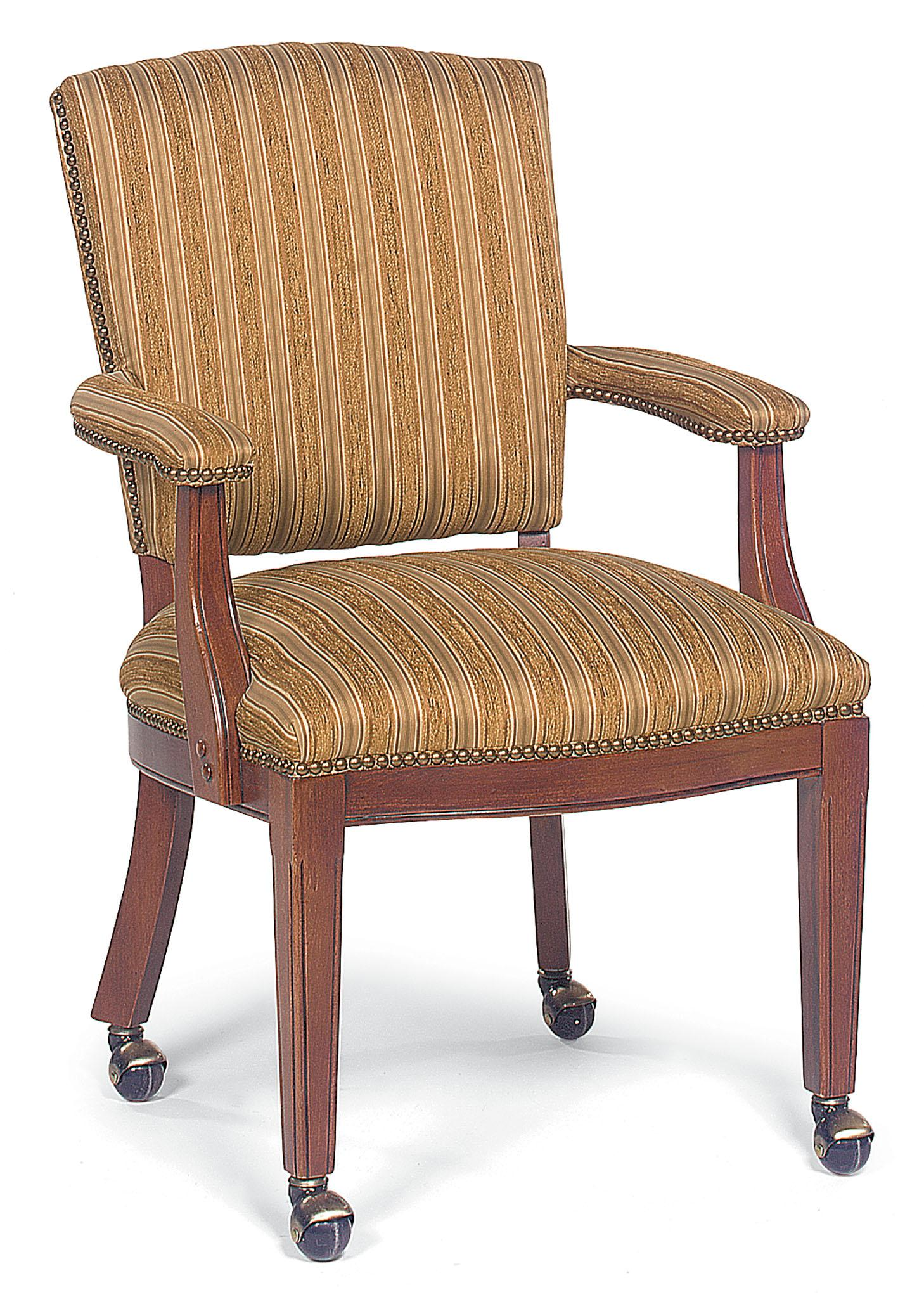 Fairfield Chairs Upholstered Exposed Wood Chair - Item Number: 5110-01