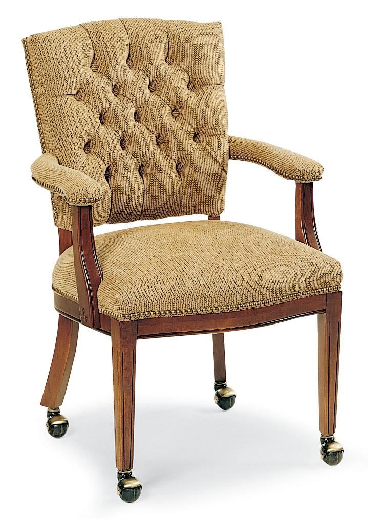 Button Tufted Occasional Chair