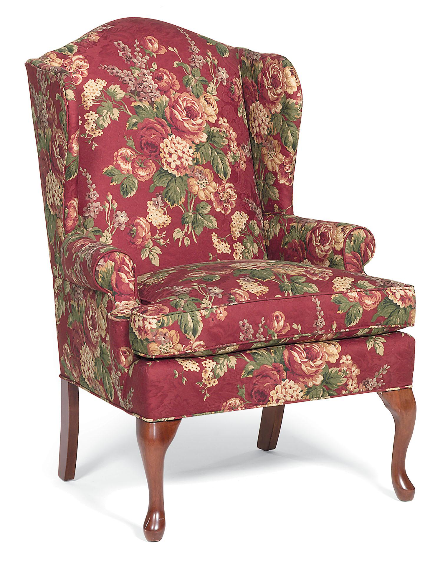 Fairfield Chairs Upholstered Wing Chair - Item Number: 5125-01