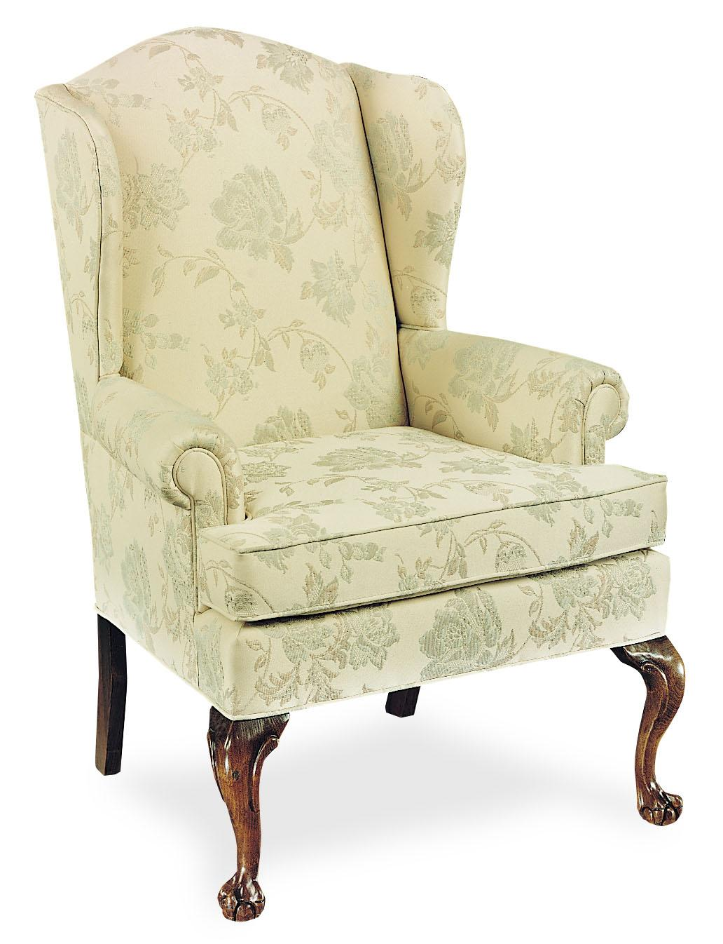 Fairfield Chairs Upholstered Wing Chair - Item Number: 5129-01