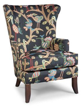 Contemporary Wing Chair