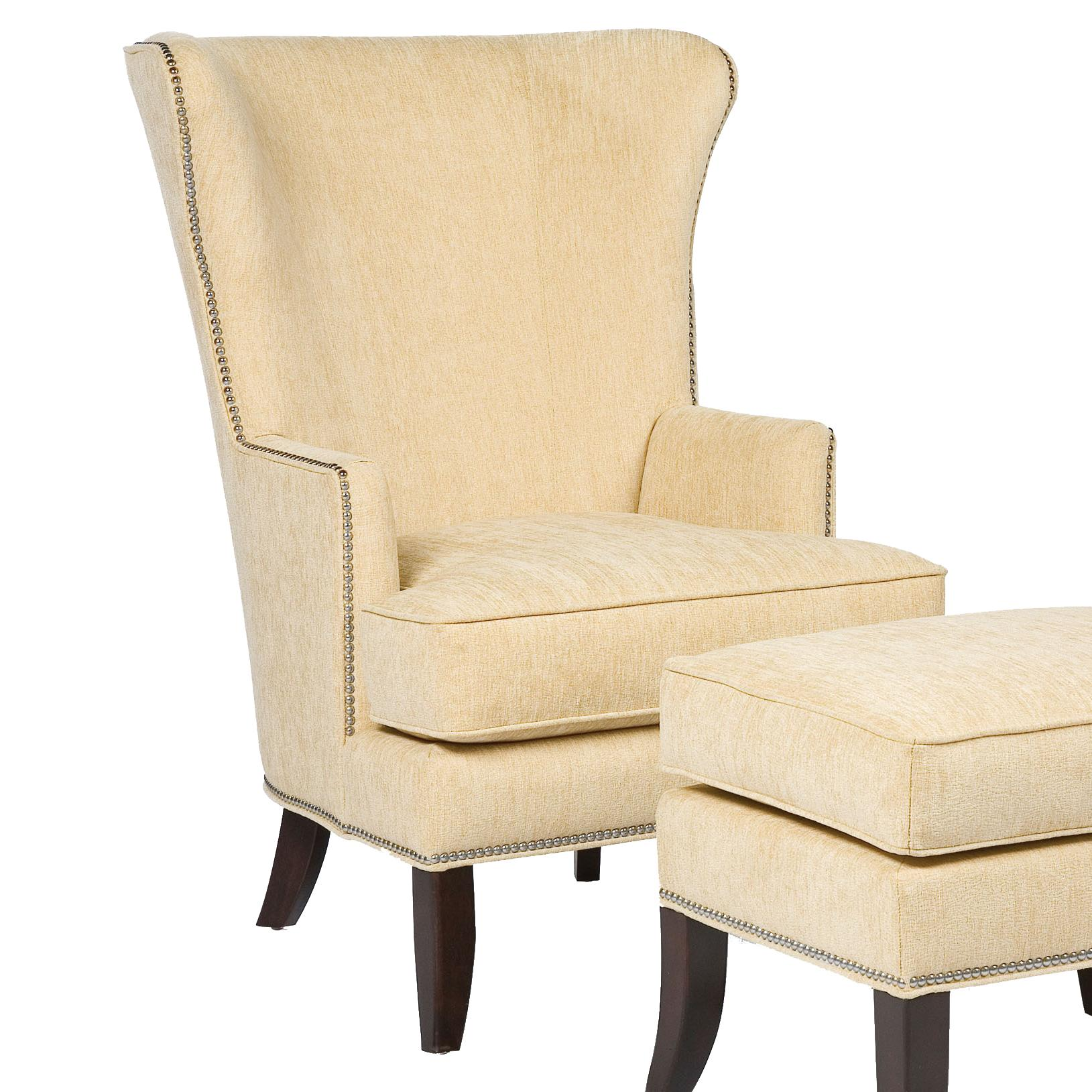 Fairfield Chairs Contemporary Wing Chair  - Item Number: 5147-01