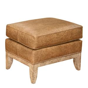 Fairfield Chairs Leather Ottoman