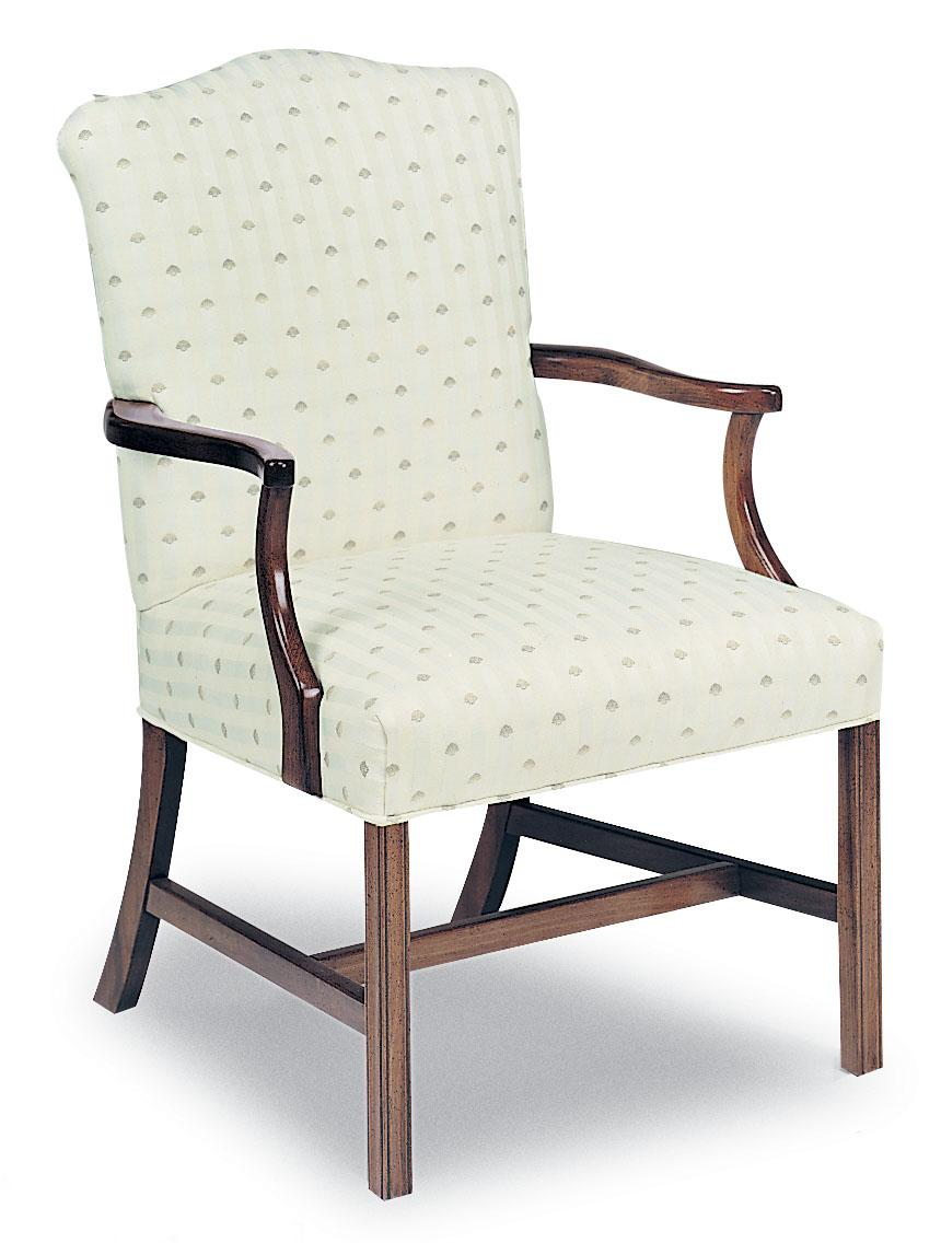 Fairfield Chairs Upholstered Exposed Wood Chair - Item Number: 5160-01
