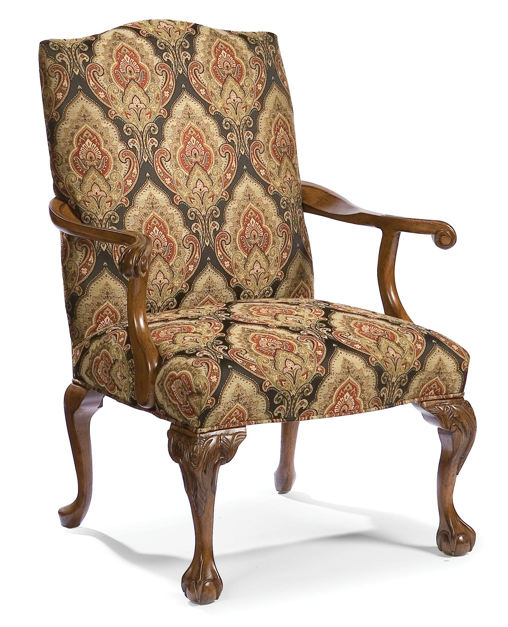 Fairfield Chairs Exposed Wood Accent Chair - Item Number: 5170-01