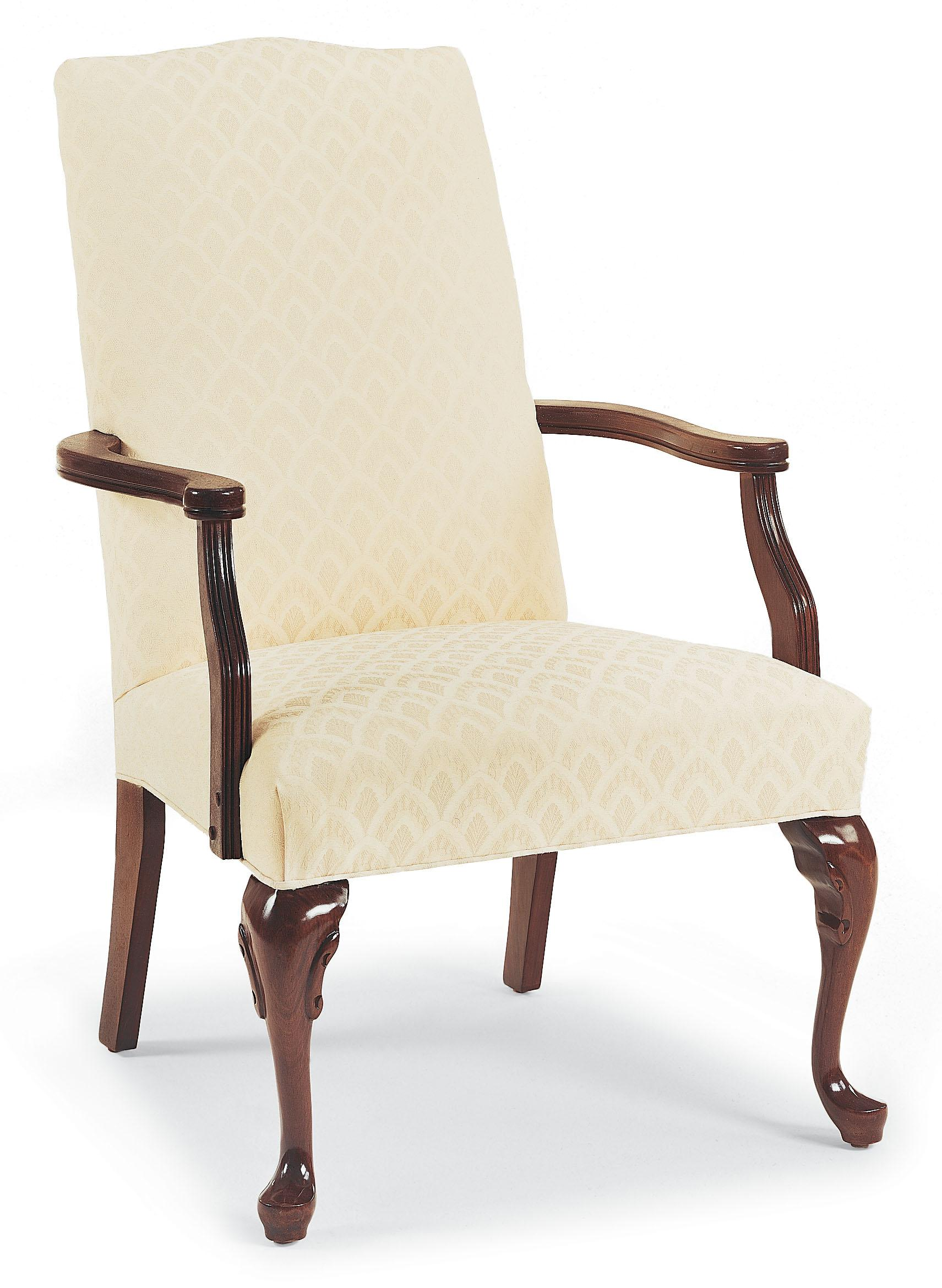 Fairfield Chairs Exposed Wood Occasional Chair - Item Number: 5173-01