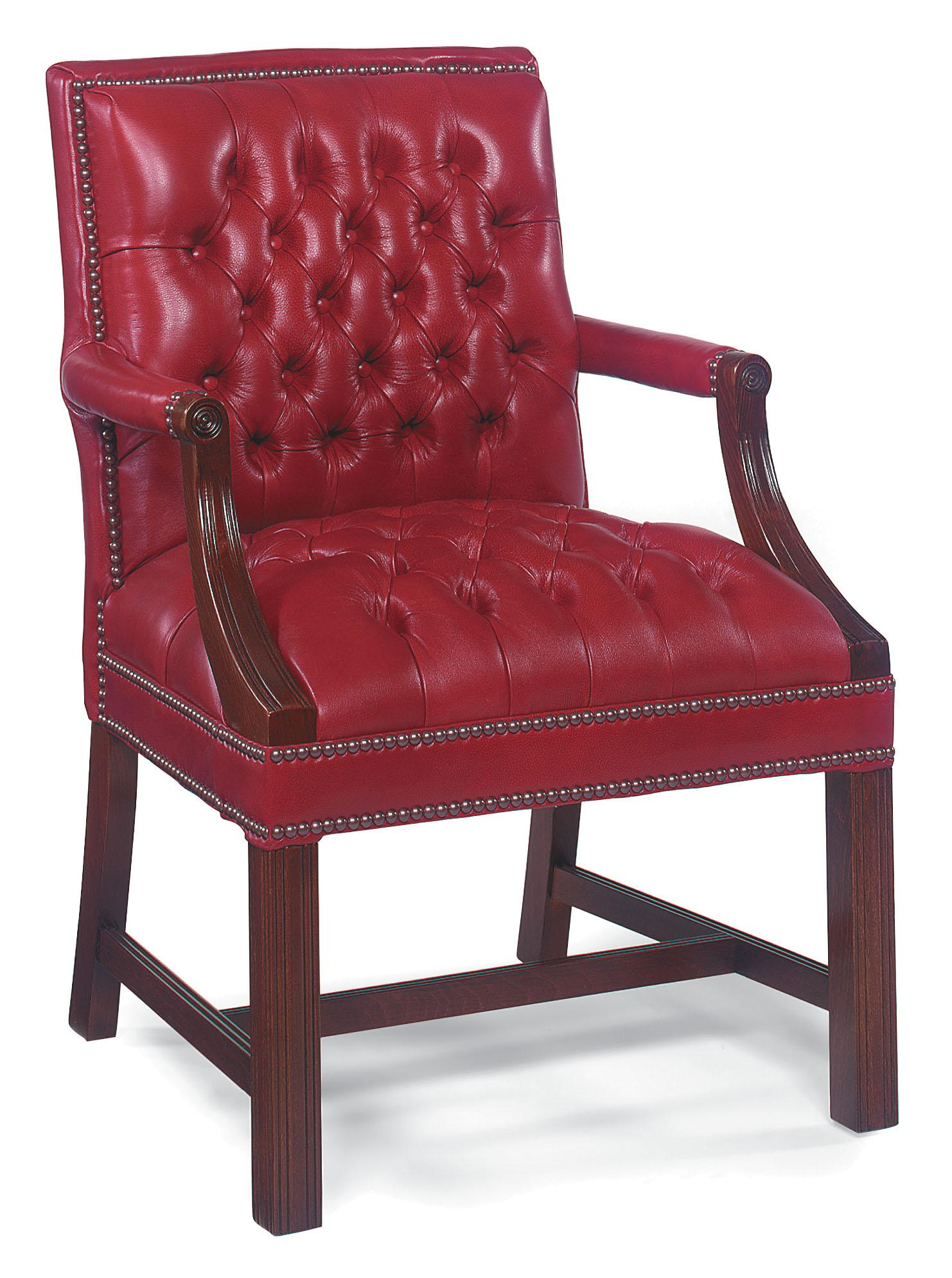 Fairfield Chairs Button Tufted Club Lounger Chair - Item Number: 5200-01
