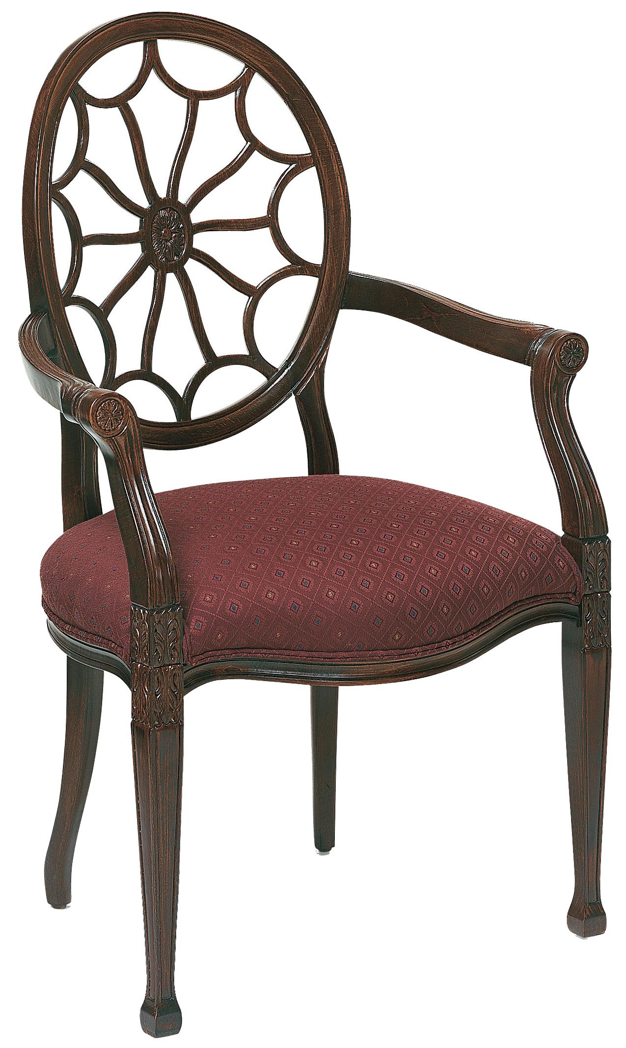 Fairfield Chairs Web Back Arm Chair - Item Number: 5282-04