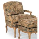 Fairfield Chairs Wide Exposed Wood Chair with Cabriole Legs - 5327-01