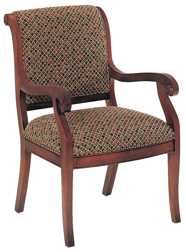 Fairfield Chairs Modest Upholstered Chair - Item Number: 5354-04