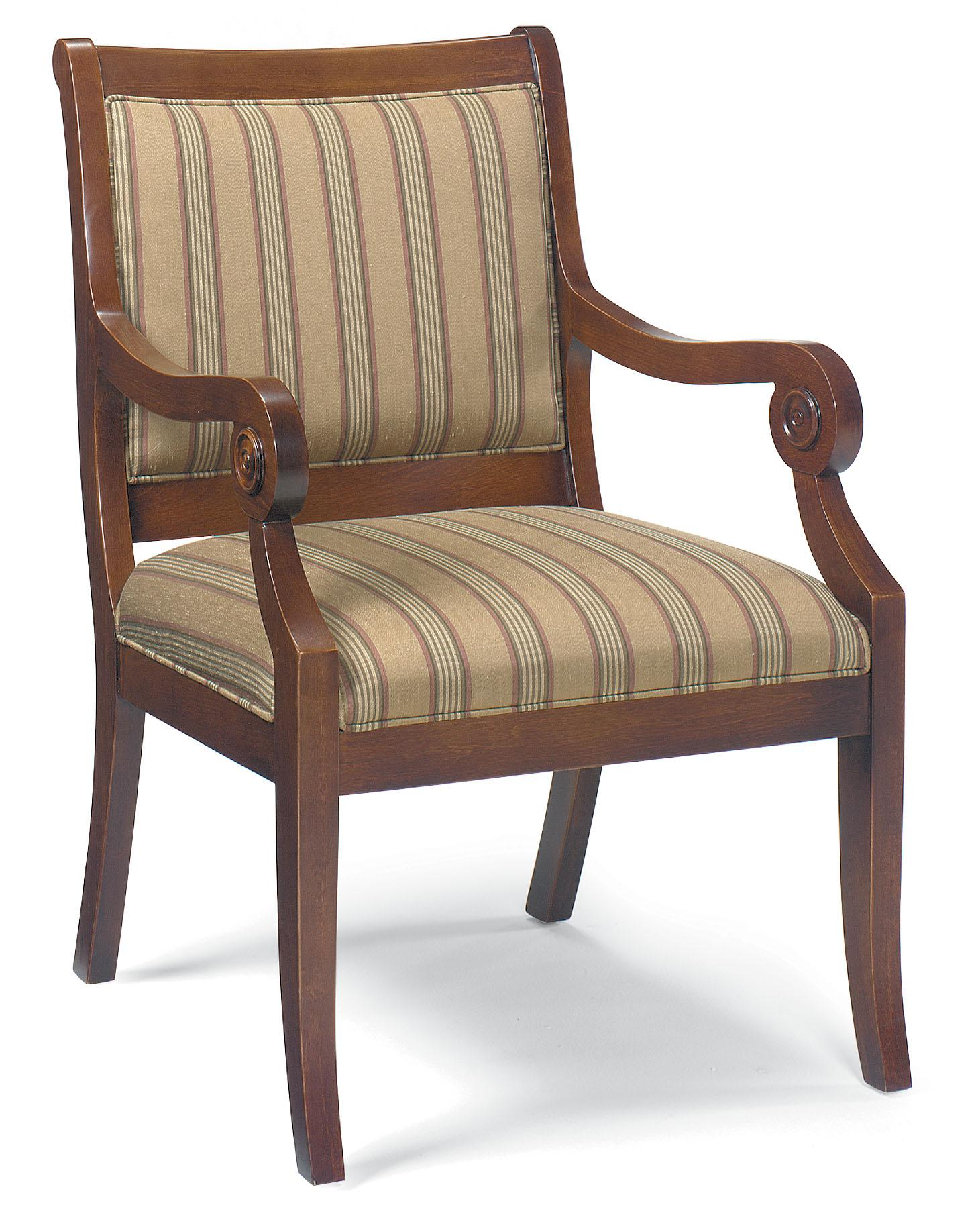Fairfield Chairs Exposed Wood Chair  - Item Number: 5357-01