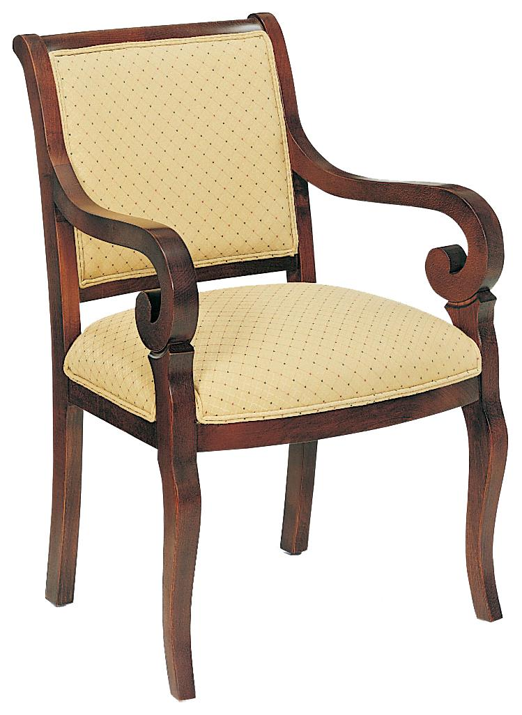 Fairfield Chairs Unadorned Accent Chair - Item Number: 5374-01