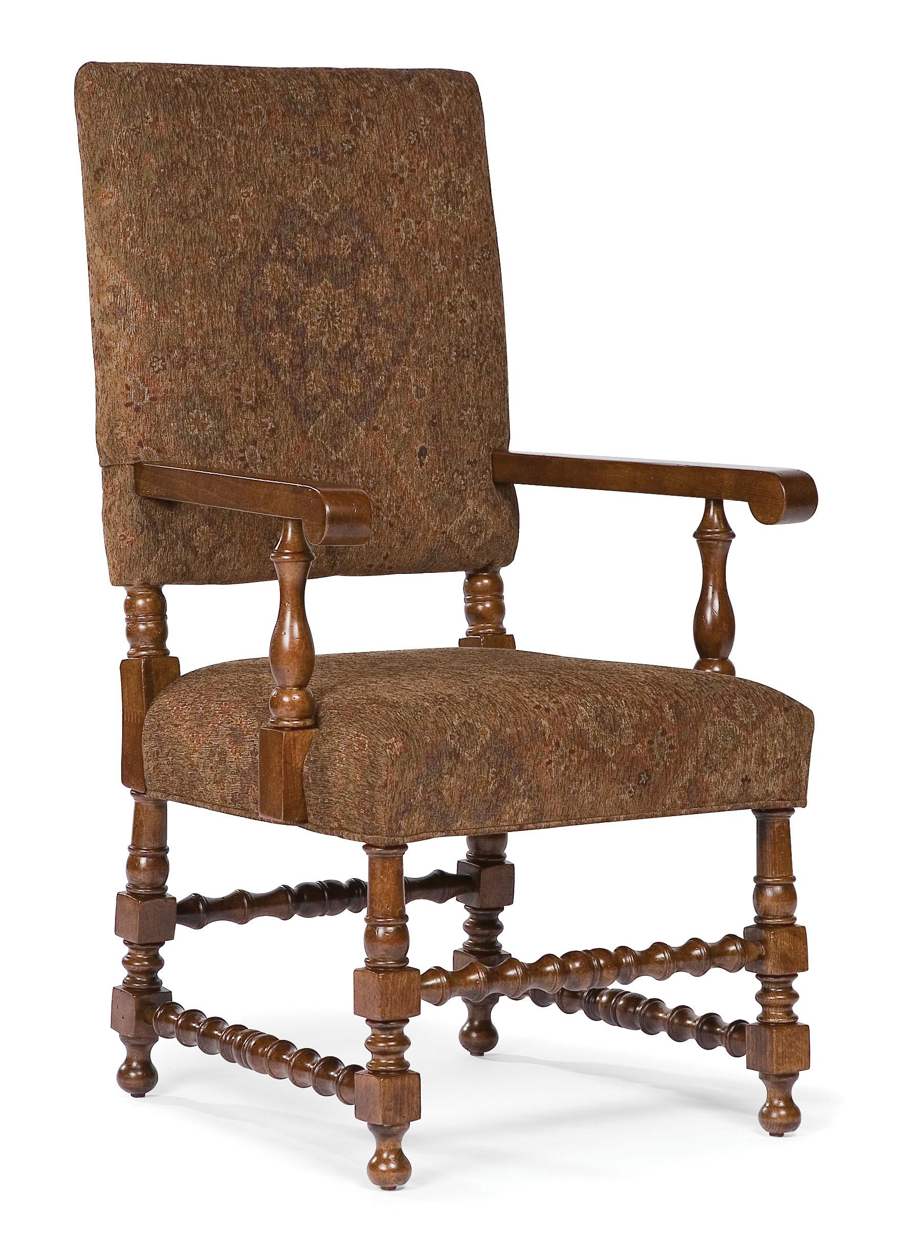 Fairfield Chairs Exposed Wood Arm Chair - Item Number: 5406-04