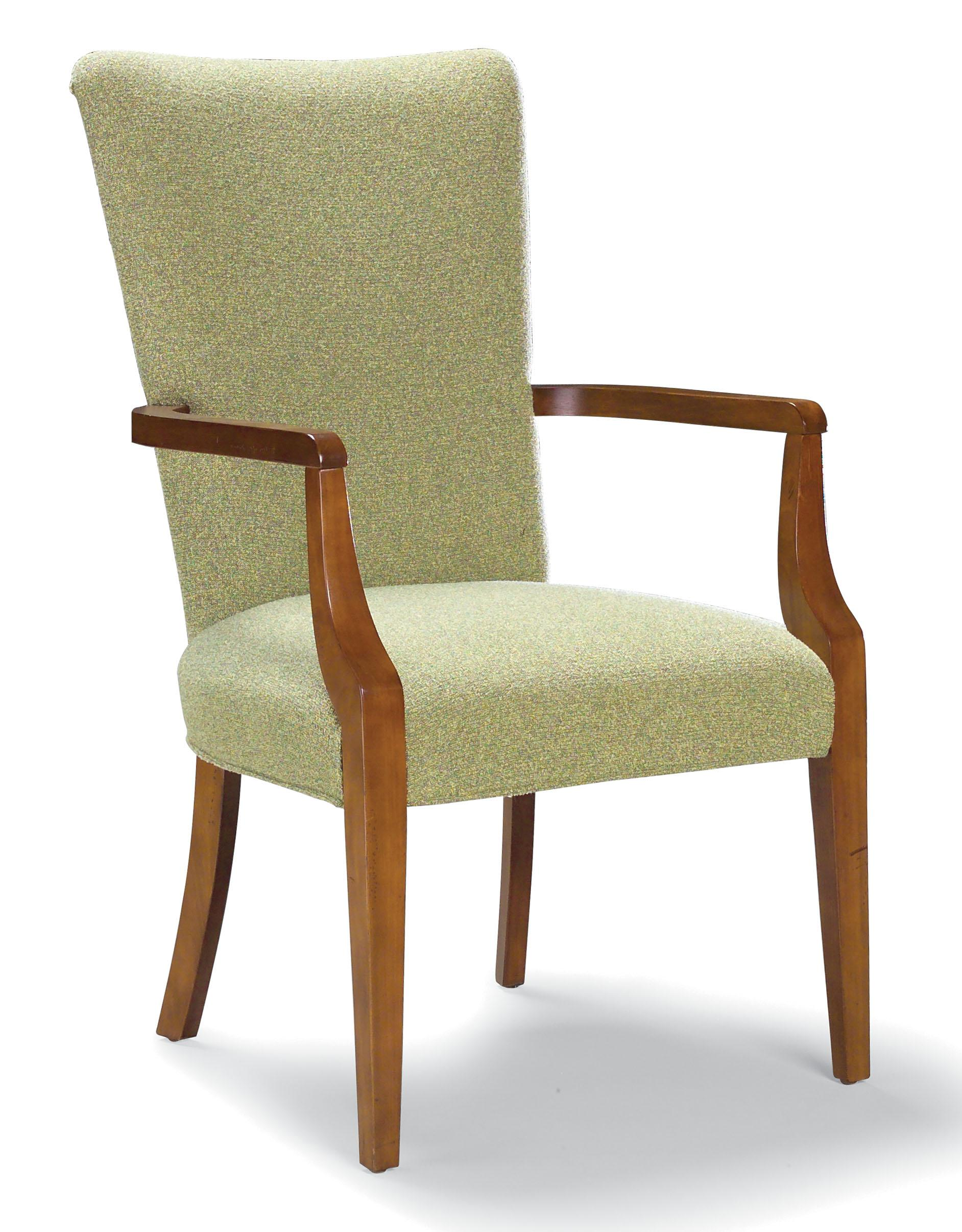 Fairfield Chairs Exposed Wood Arm Chair - Item Number: 5408-04