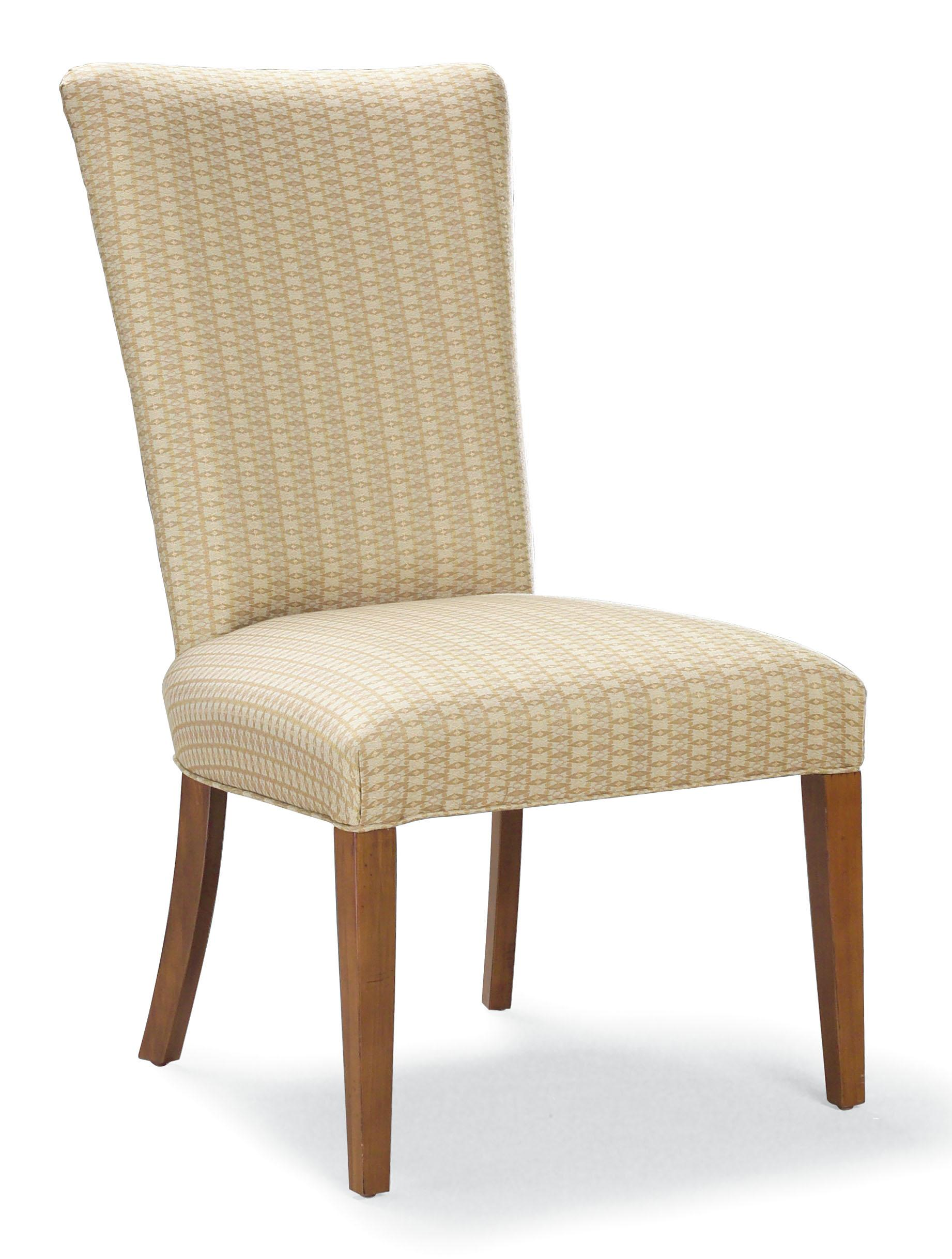 Fairfield Chairs Side Chair with Wood Legs - Item Number: 5408-05