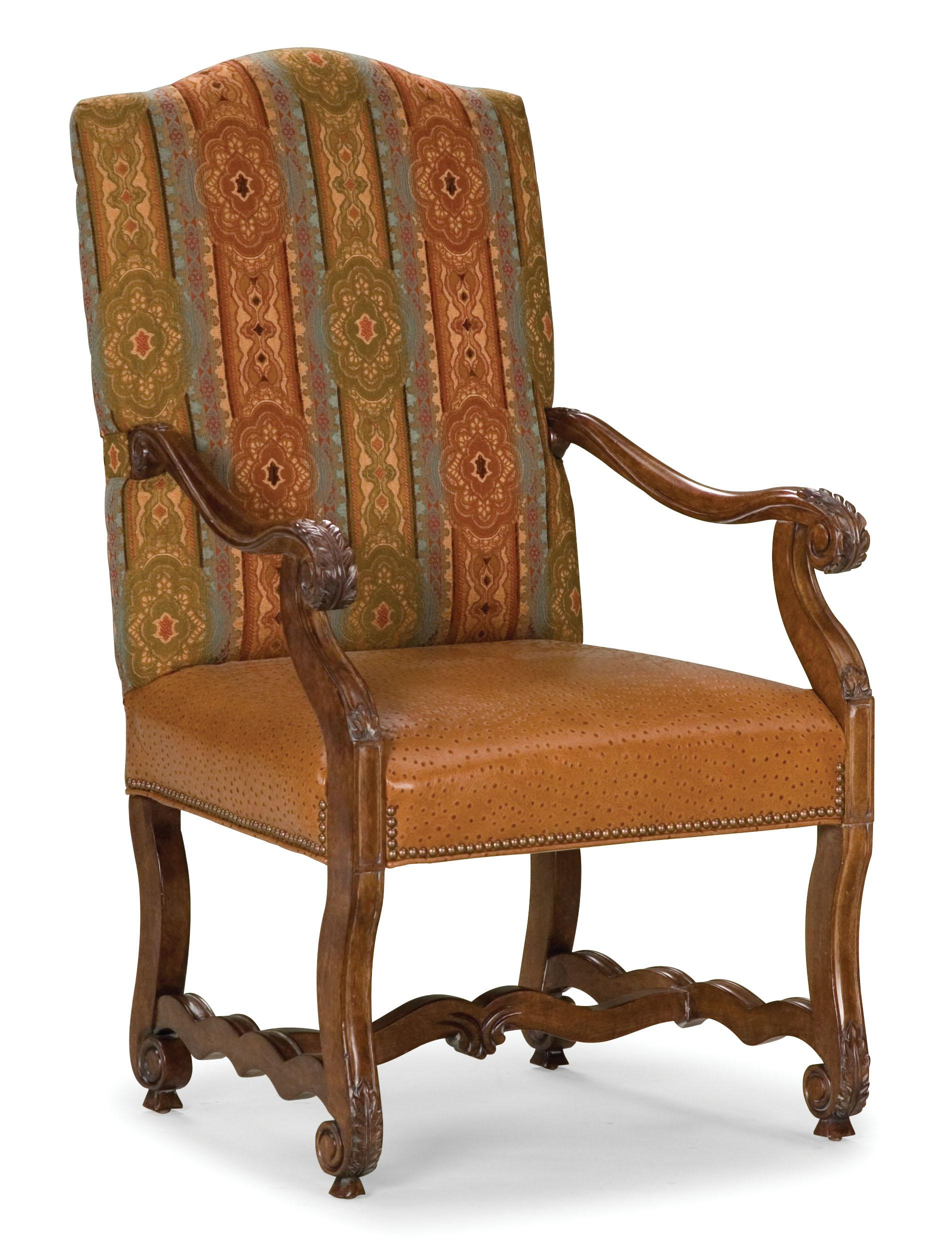 Fairfield Chairs Exposed Wood Accent Chair - Item Number: 5409-04