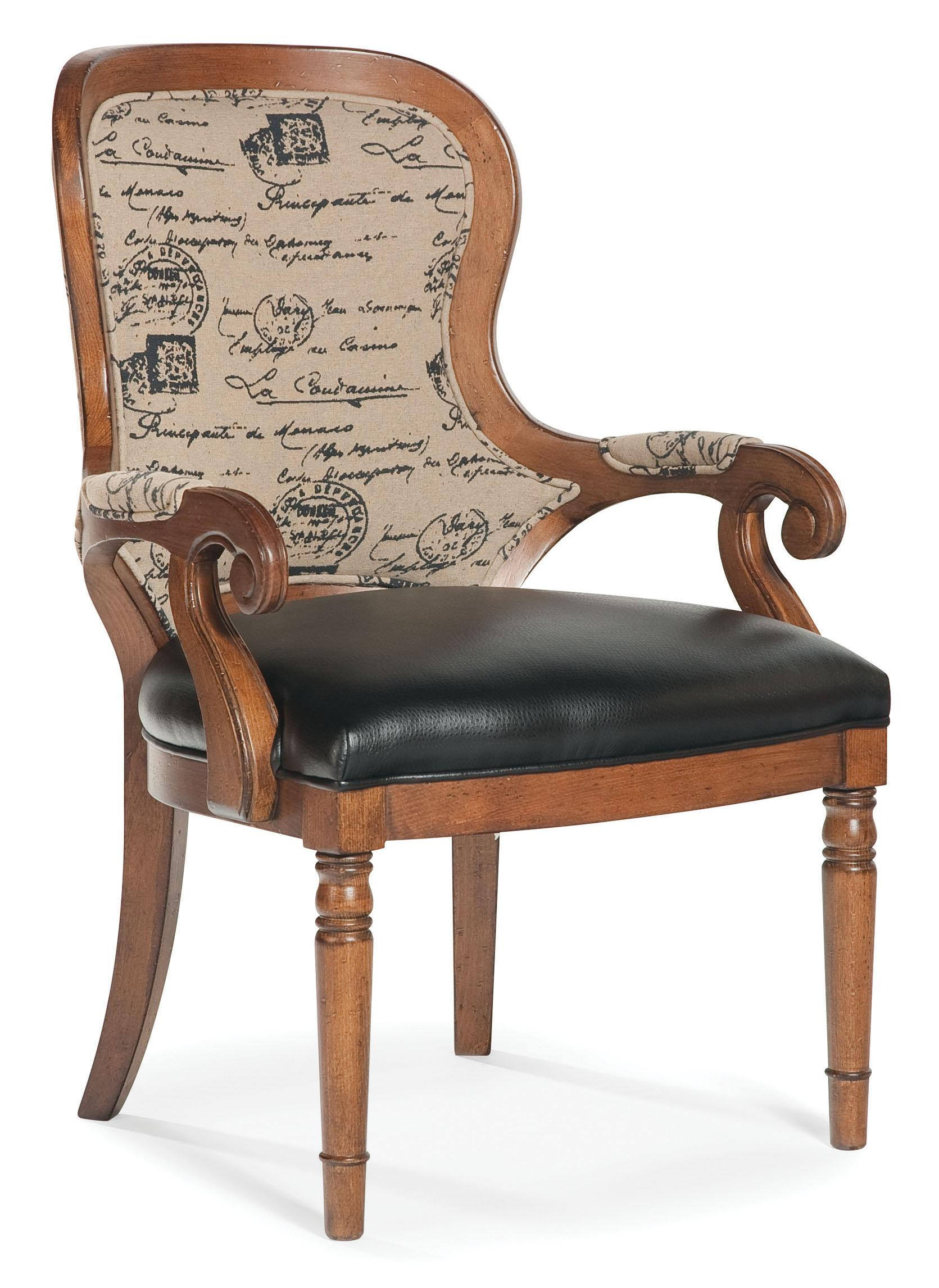 Fairfield Chairs Exposed Wood Accent Chair - Item Number: 5412-01