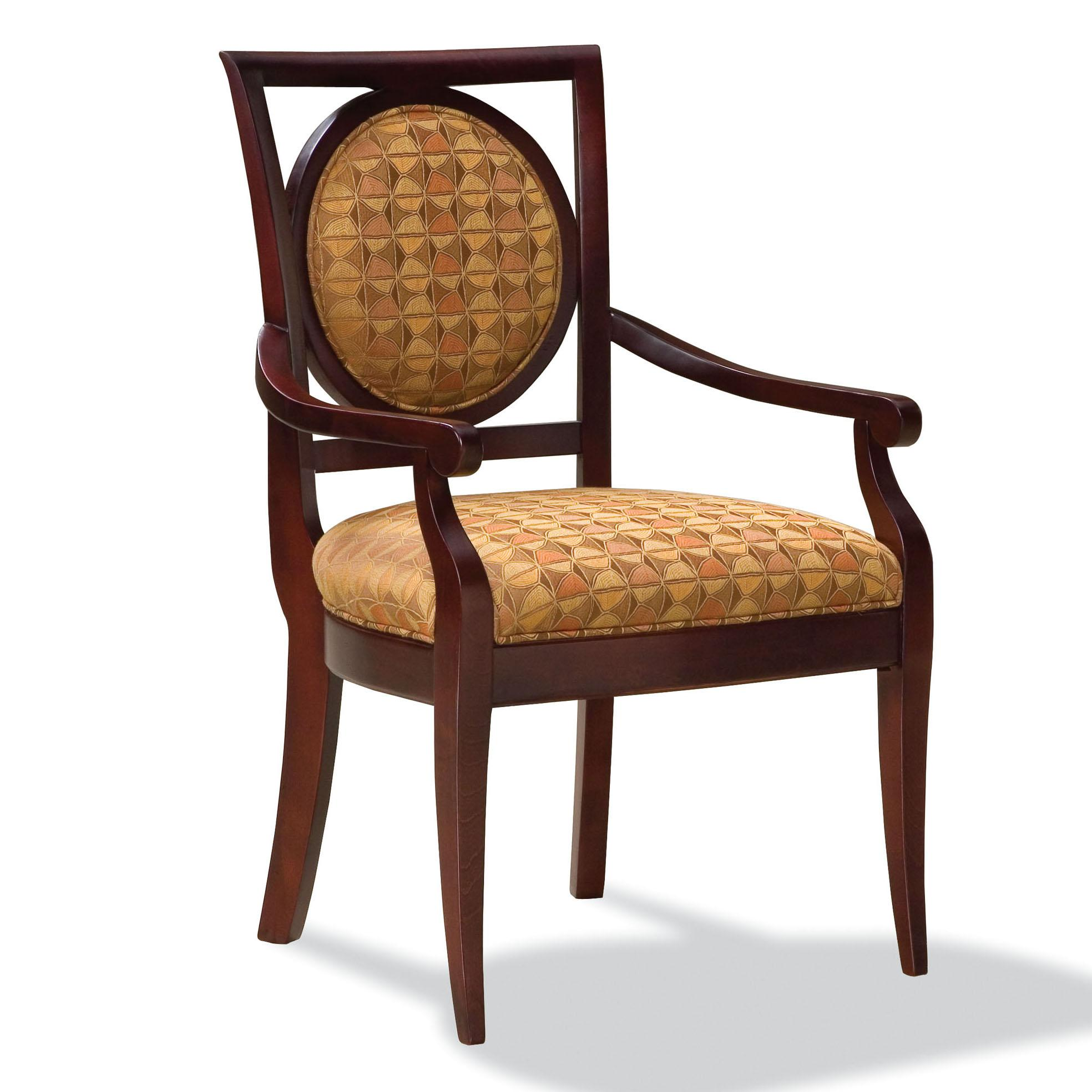 Fairfield Chairs Exposed Wood Arm Chair - Item Number: 5414-04