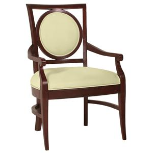 Circle Back Arm Chair