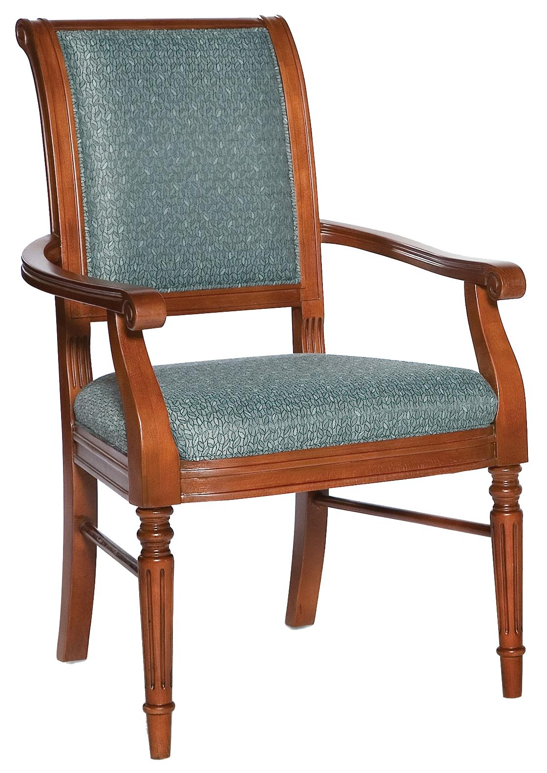 Fairfield Chairs Picture Frame Arm Chair  - Item Number: 5434-04